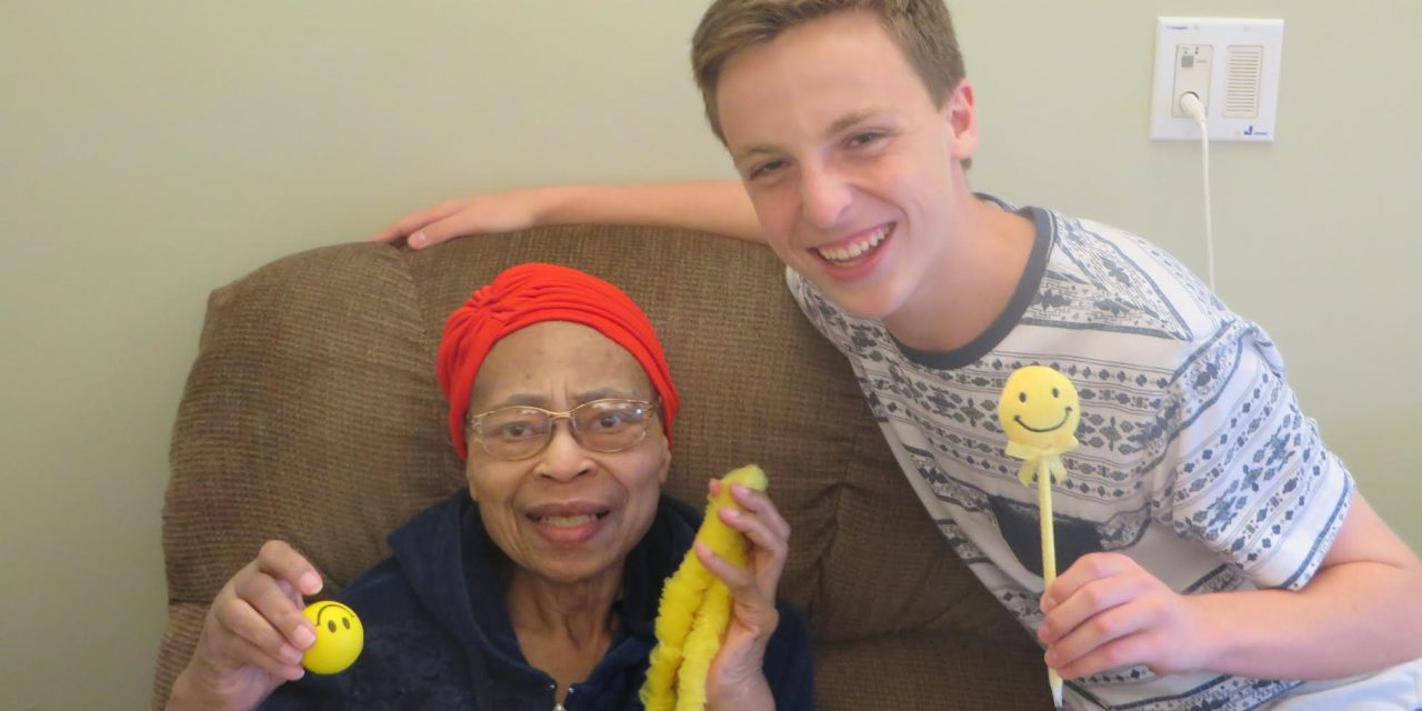 How Teen Volunteers Are Making Seniors in Nursing Homes Smile