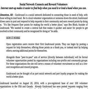 Gozaround volunteer service in US