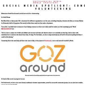 Gozaround social impact projects